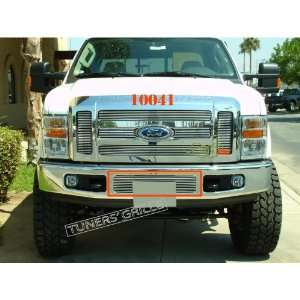 08 10 FORD F250/350/450/550 1 PC BUMPER BILLET GRILLE
