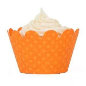 Maya Orange Mini Cupcake Wrappers (set of 54) Everything