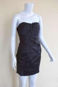 Sweetheart Strapless Mini Dress/Teal,Pink,White,Black