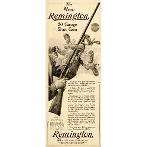 1921 Ad Remington Model 17 Shot Gun Lynn Bogue Hunt
