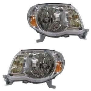 05 11 Toyota Tacoma Pickup Truck Headlights Headlamps Head