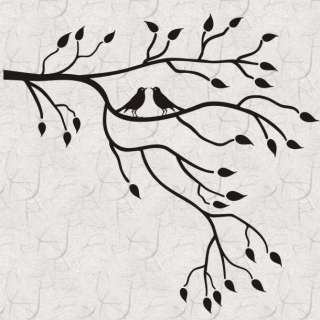 Birds InTree Branches B Vinyl Wall Art Decal Sticker