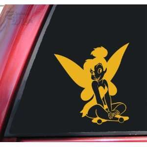 Tinkerbell Fairy Mustard Vinyl Decal Sticker