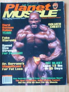 PLANET MUSCLE bodybuilding fitness glutes magazine/FLEX WHEELER/Vol.4