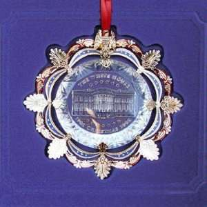 The White House Christmas Ornament 2002