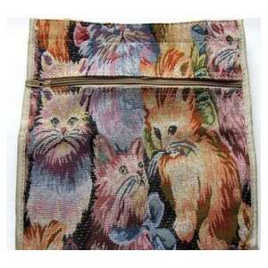 Designer Cat Lover Tapestry Shopping Tote Bag Everything