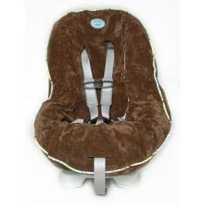 Chocolate Mint Car Seat Cover Baby