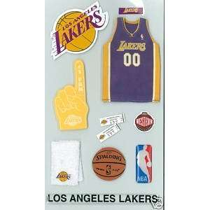 Los Angeles Lakers NBA Stickers Arts, Crafts & Sewing