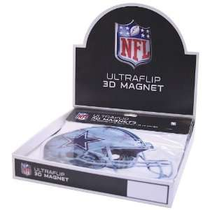 Magnet  24 Dsp By Dallas Cowboys 24pc Helmet Magnet Countertop Display