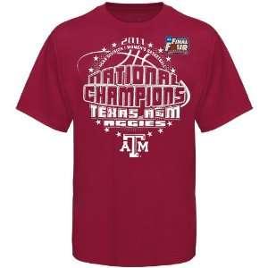 Texas A&M Aggies Youth 2011 NCAA Womens Basketball National Champions