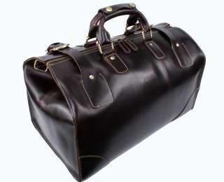 Men Genuine Cowhide Leather Travel Case/Duffle Hand Bag