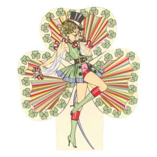 St. Patricks Day, Show Girl Illustration Giclee Print at AllPosters