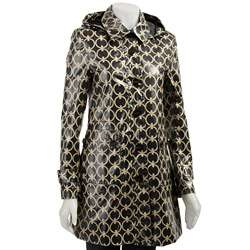 Miss Sixty Womens Balmacaan Trench Coat