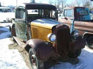 ton Pickup Truck original RESTORATION project Rat Rod Chevy