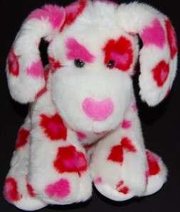 Build A Bear Valentine Hearts Fur You Plush Puppy Dog