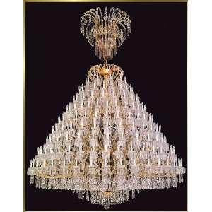 Waria Theresa Chandelier, AR 2993, 160 lights, Gold, 120 wide X 158