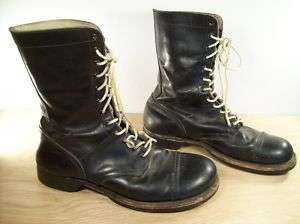 Easer Freeman Vietnam Era Combat Military Leather Mens Boots Size 11.5