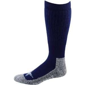 Cowboys Ladies Navy Blue Gray Wool Trekker Socks