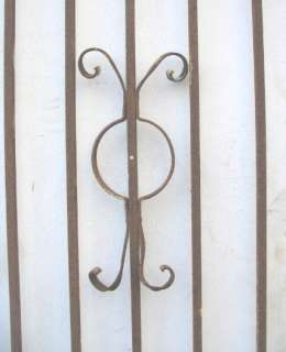 SET Antique Wrought Iron Gates   57 x 99