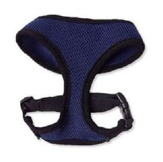 Casual Canine Soft Mesh Dog Harness Collar XS XL Navy Blue