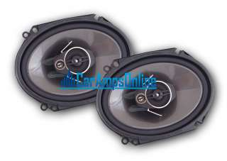 NEW PIONEER TS A6874R 6X8 3 WAY CAR STEREO FRONT / REAR DOOR AUDIO