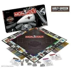 Harley Davidson Monopoly Toys & Games