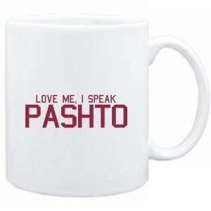 Mug White  LOVE ME, I SPEAK Pashto  Languages