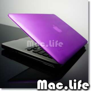 NEW DESIGN PUPRLE Hard Case Cover for Macbook PRO 13