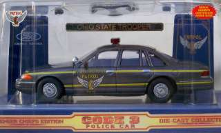 OHIO HIGHWAY PATROL   FORD CROWN VICTORIA   CODE 3   POLICE CAR   124