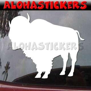 BISON Animal Vinyl Decal Window Buffalo Sticker B489