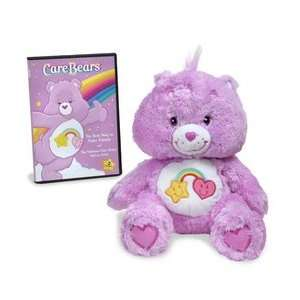 Care Bears Floppy Pose Best Friend Bear with DVD Toys