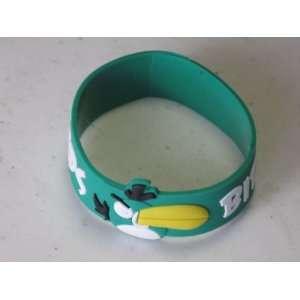 Angry Birds PVC Bracelet Green Color