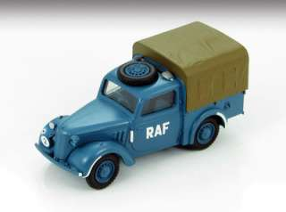 Master 1301 Tilly Light Utility Car Royal Air Force 1940s 1/48 Scale