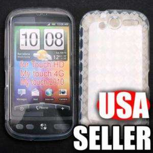 Clear TPU Silicone Gel Case for HTC T Mobile Mytouch 4G