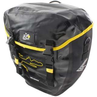 Tour de France Waterproof Bicycle Side Bag, Large