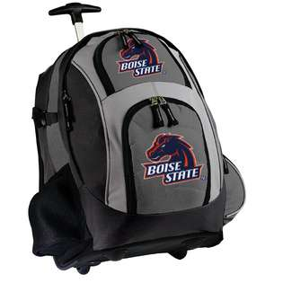 Broad Bay Boise State Rolling Backpacks with Wheels BEST Wheeled