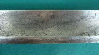 Late 18th C German Hunting Knife Dagger Sword