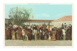 Pageant of Indian Crafts, San Gabriel Mission, California Posters at