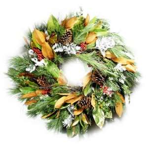 Sandra Began 24 Southern Charm Wreath:  Home & Kitchen