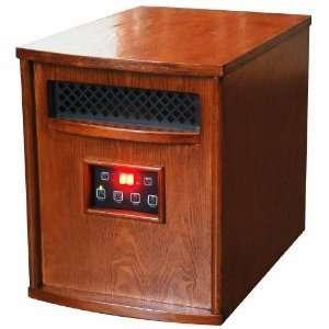 LifeSmart LS1500 6 Quartz Infrared 1500 Watt Heater