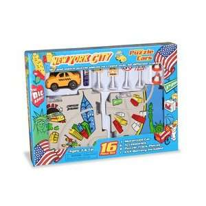 Puzzle Cars NYC Taxi Cab Toys & Games