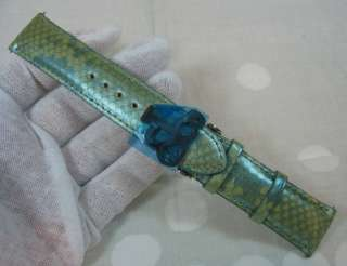 New Jacob & Co. Real Python Snake Skin Watch Band 22mm   Factory