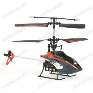 Mini 4CH IR RC metal GYRO Remote Control toy Helicopter