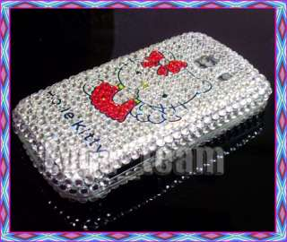 Hello Kitty Bling Case Cover for LG Optimus S LS670 #9