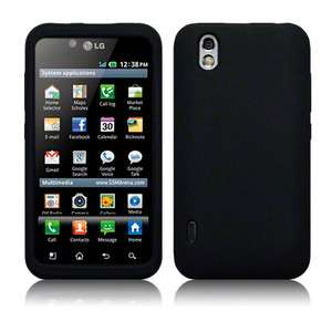 For LG Optimus Black P970 Marquee LS855 Gel Rubber Silicone Case Skin