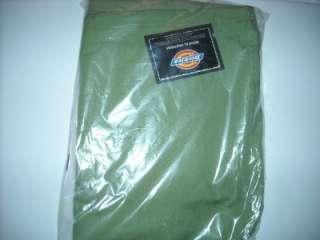 NWT DICKIES UNISEX 50106 SCRUB PANTS MOSS GREEN DRAWSTRING BACK POCKET