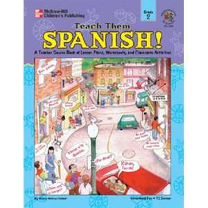 : New Carson Dellosa Teach Them Spanish Simple Follow Teacher Lesson