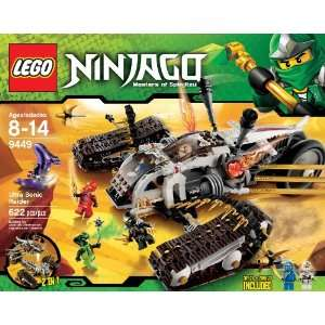 LEGO Ninjago Ultra Sonic Raider Set 9449 Dragon 6 Figures