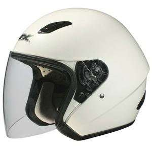 AFX FX 43 MOTORCYCLE HELMET W/SHIELD PEARL WHITE MD Automotive