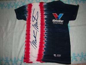 NASCAR MARK MARTIN VALVOLINE T SHIRT, EXTRA SMALL   NEW